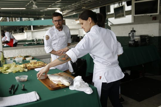 TOP CHEF -- Episode 1601 -- Pictured: (l-r) -- (Photo by: Michael Hickey/Bravo)