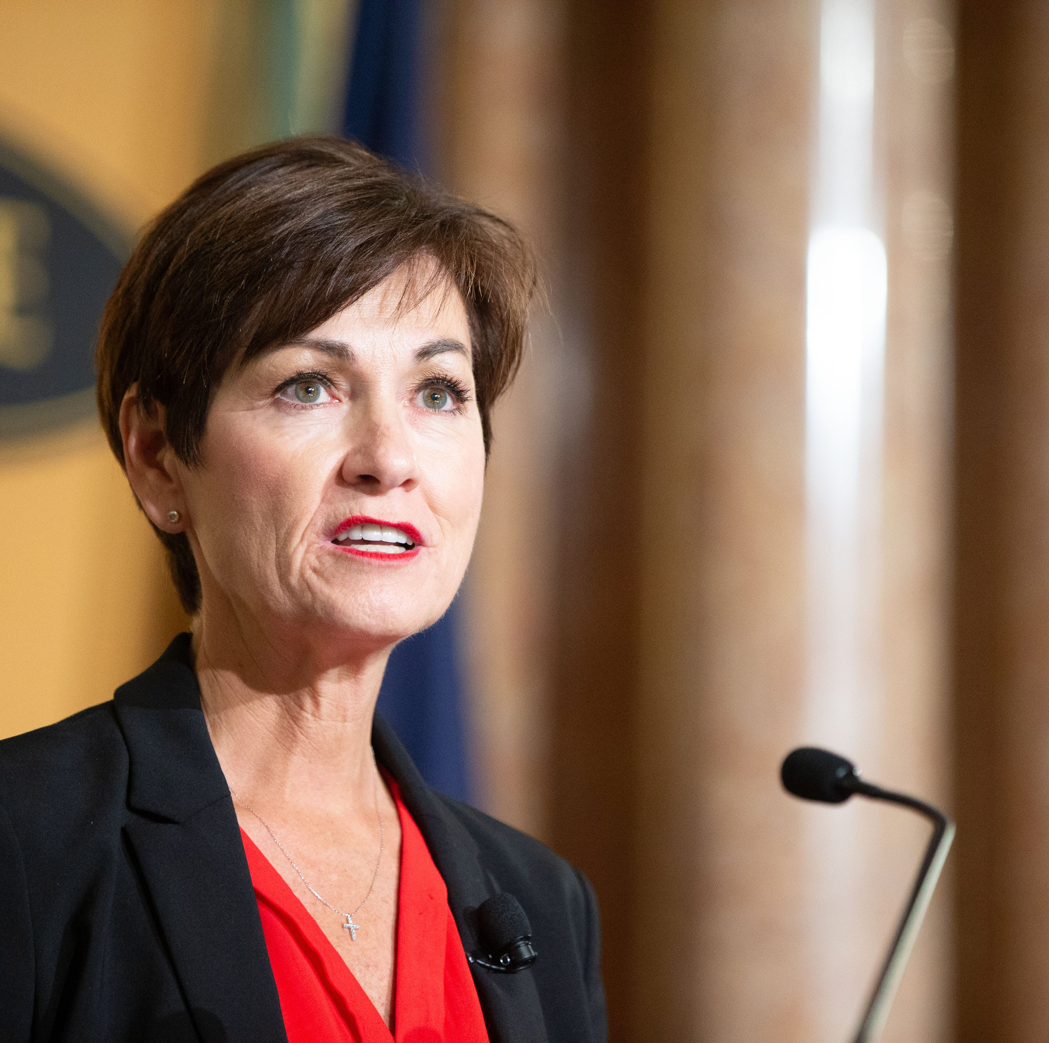 Gov. Reynolds: 'Under my watch, your IPERS is safe. It will not change; it will be protected'