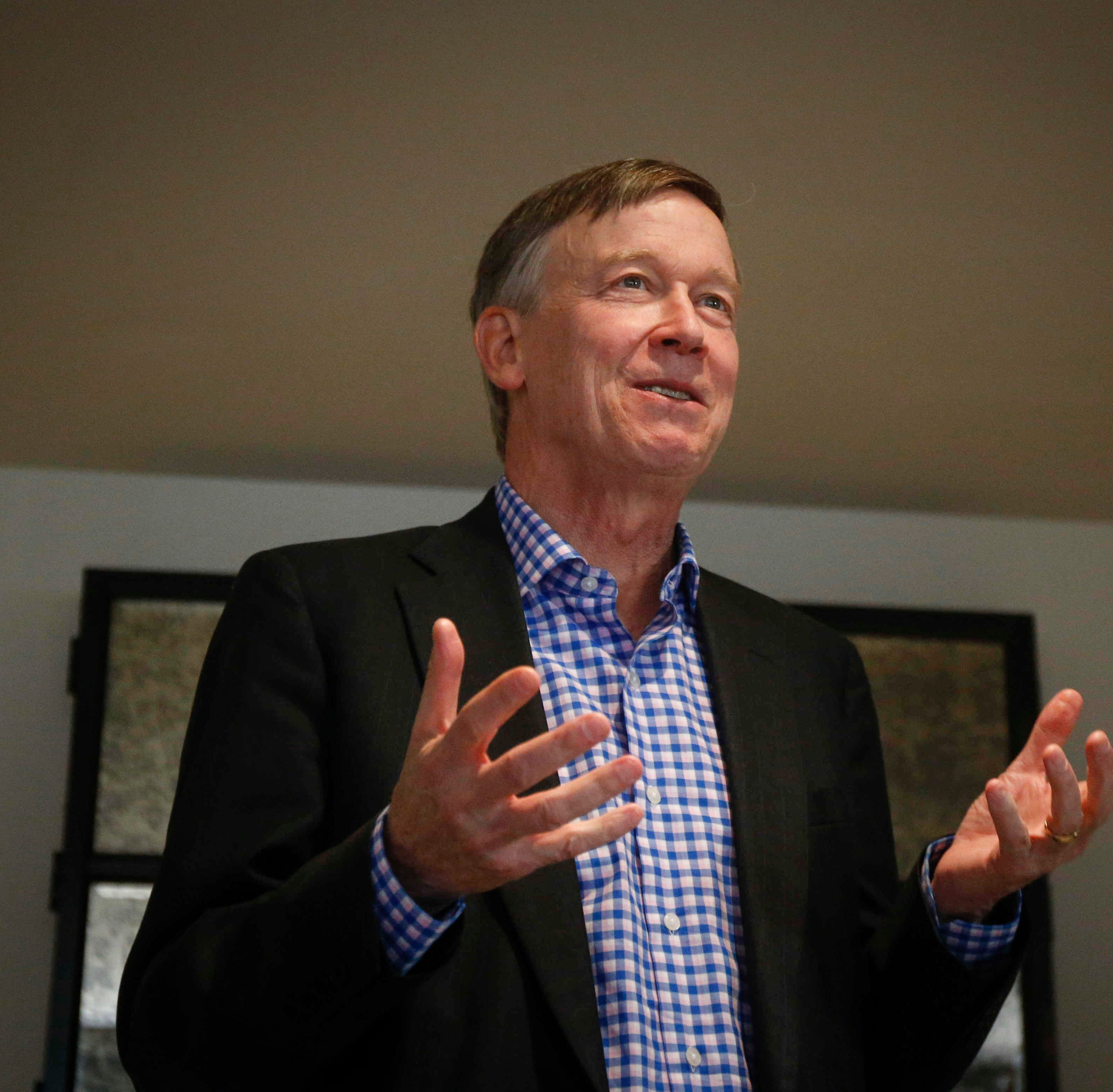In Iowa, John Hickenlooper says he could bring unique voice to 2020 presidential race