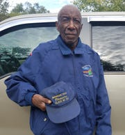Abraham Taylor, a 55-year Ford employee, is working on assembly of the new Ranger midsize pickup.