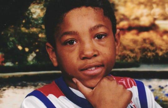 Michigan State safety Khari Willis during his childhood growing up in Jackson.