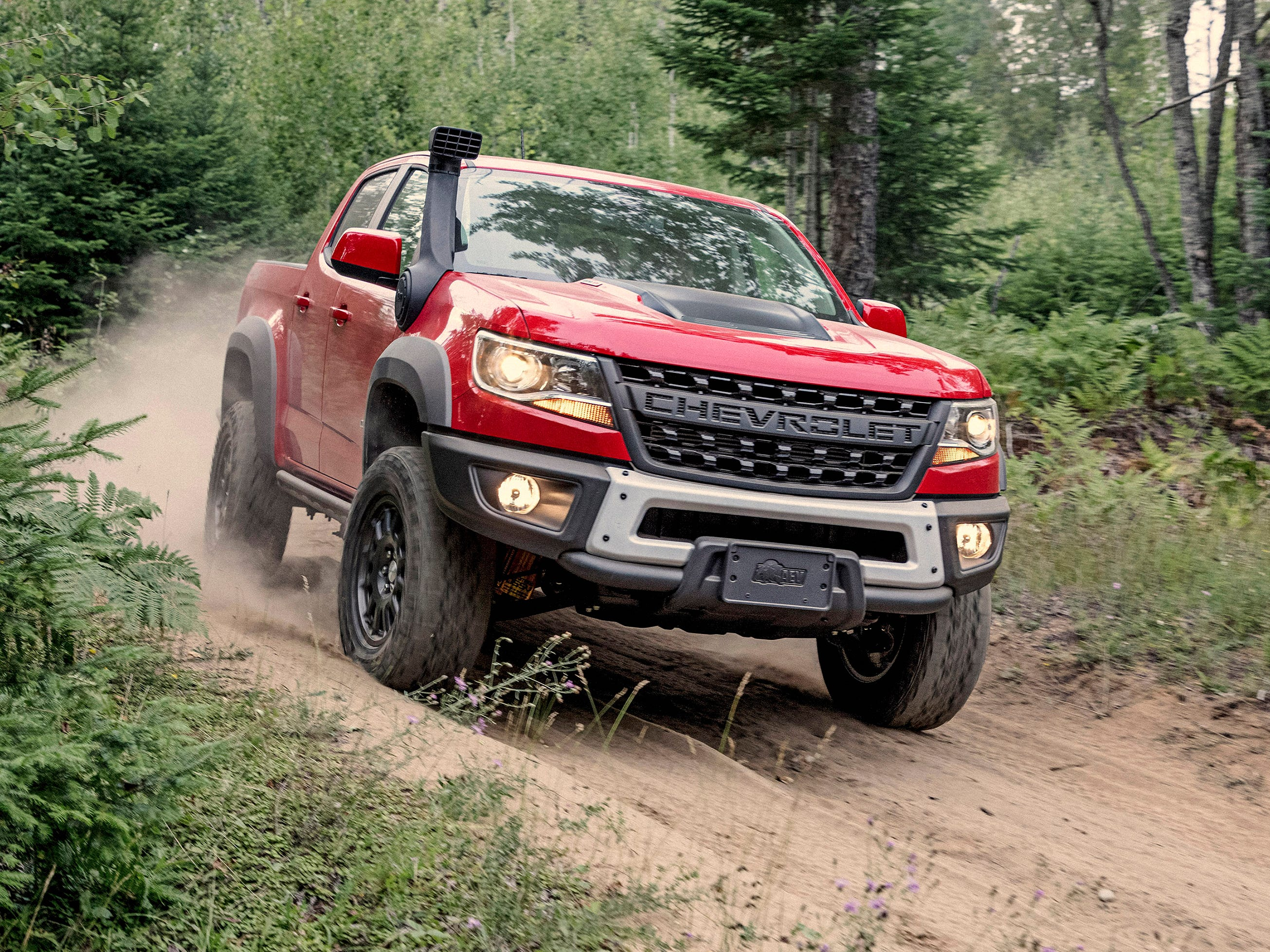 King of the off-road: Ford, Chevy and Ram pickups battle for supremacy