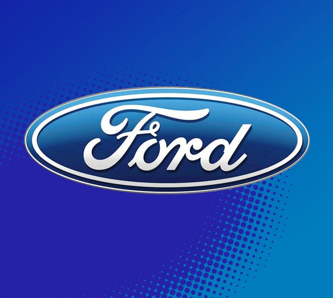 Ford Motor Co. shares shrugged off a downgrade by Morgan Stanley on Friday, after the investment bank said the carmaker's earnings and cash flow are under pressure and its dividend is at risk.