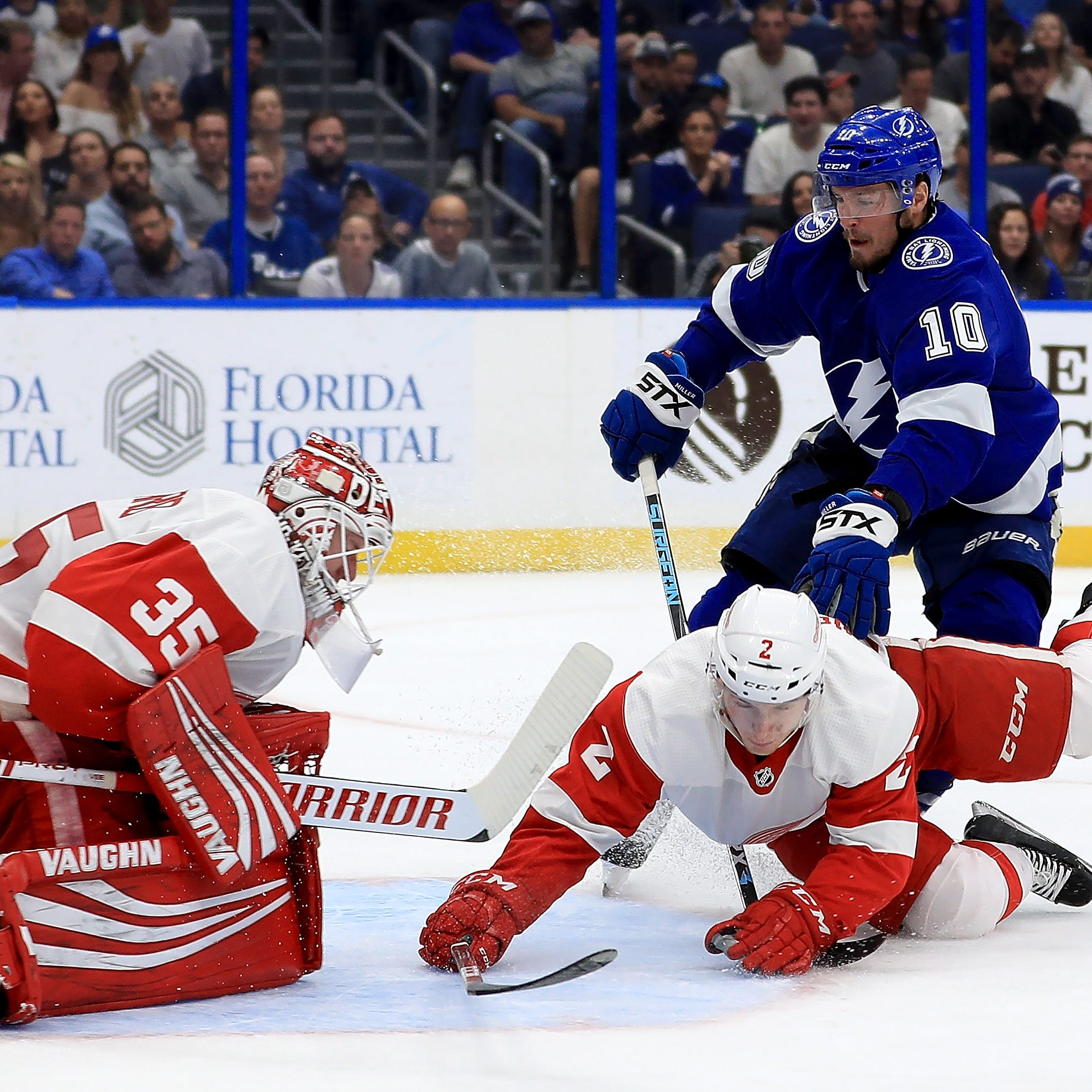 Red Wings focus on short term as losing streak builds