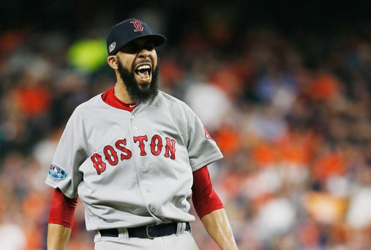 League Championship Series Boston Red Sox V Houston Astros Game Five