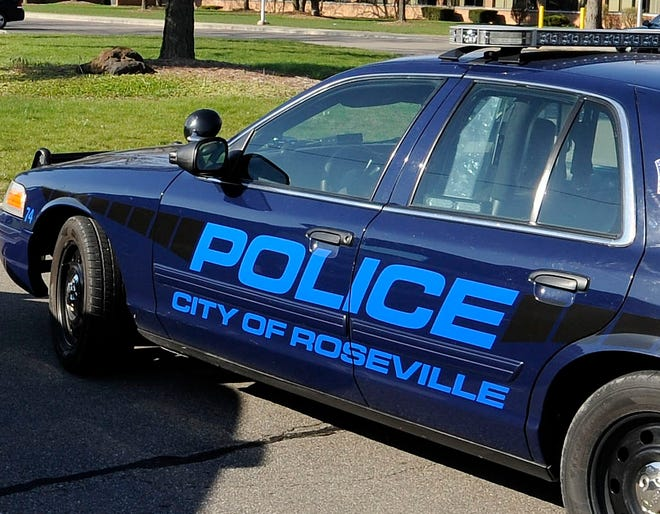 A 38-year-old man who allegedly broke into a Roseville home at about 11:35 a.m. Thursday, fought with a neighbor who tried to stop him, then resisted arrest, according to police.
