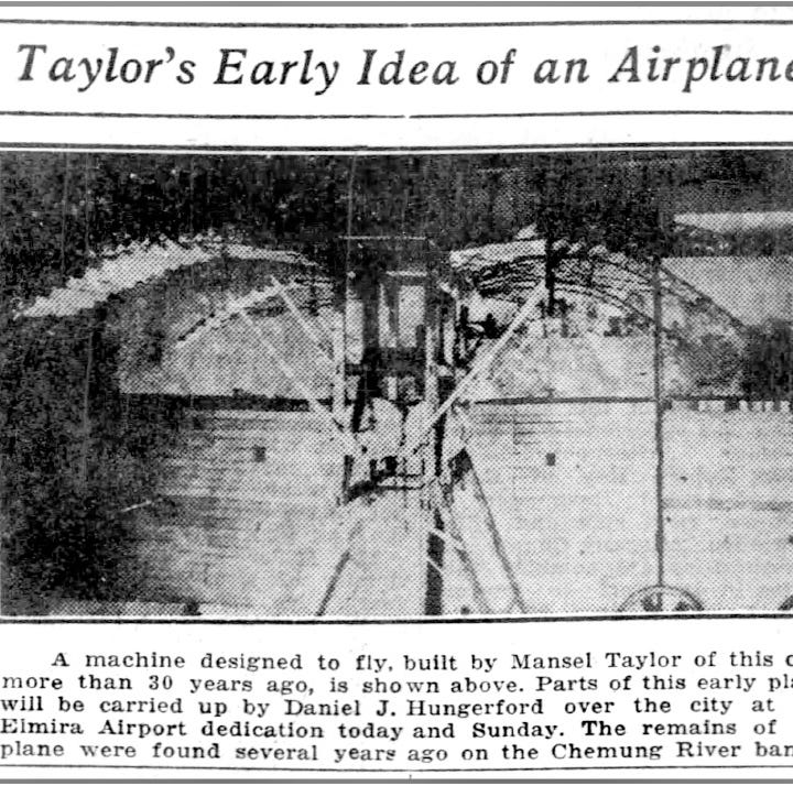 Elmira history: A local man almost invented the first flying machine