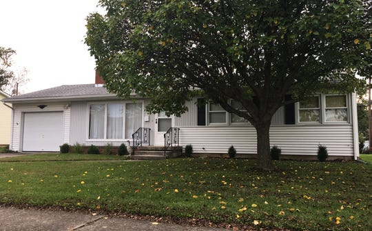 This house at 208 Oaklawn Ave. in Fremont sold for $95,200 on Oct. 4, 2018.