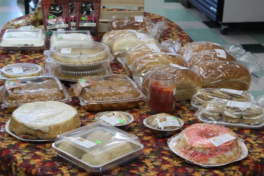 Fresh-baked pies and pastries are sold at Bark Creek Pantry, 1789 E. State St. The store opened in June and offers bulk foods, Ohio-made products and meats and cheeses cut to order.