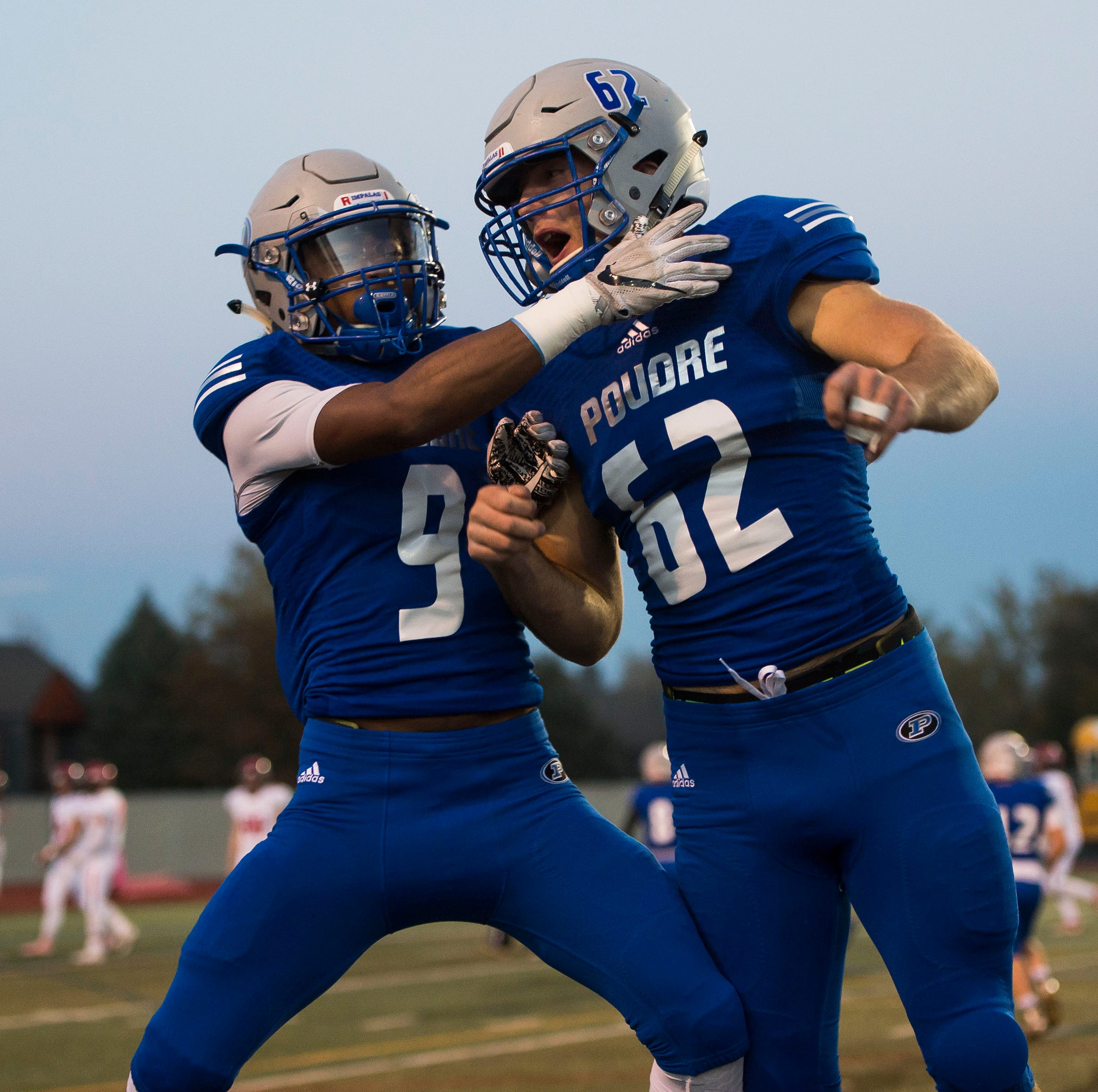 Poudre, Fossil Ridge football teams drop games, sets up key matchup next week