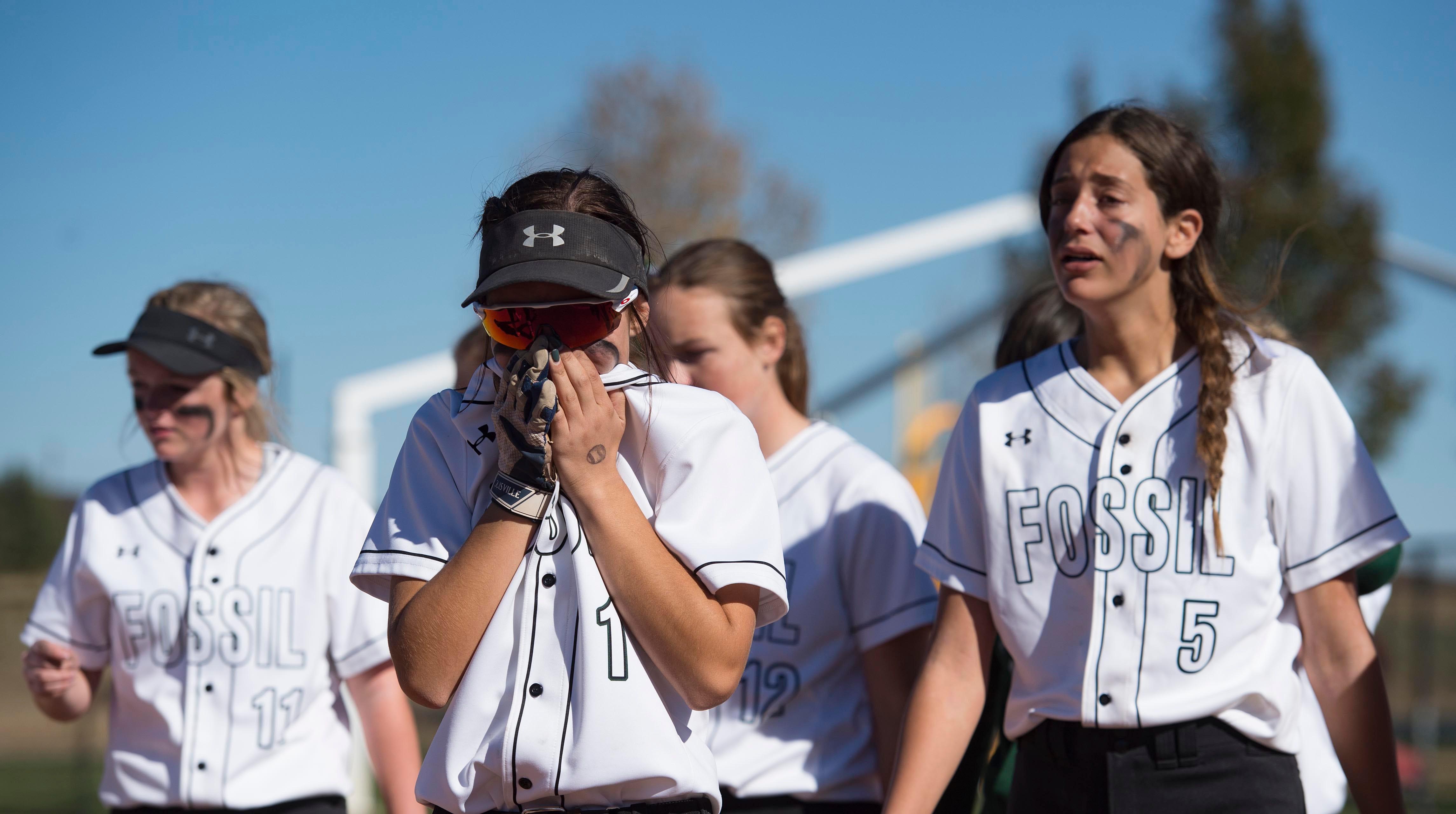 Fossil Ridge softball stunned in state tournament opener