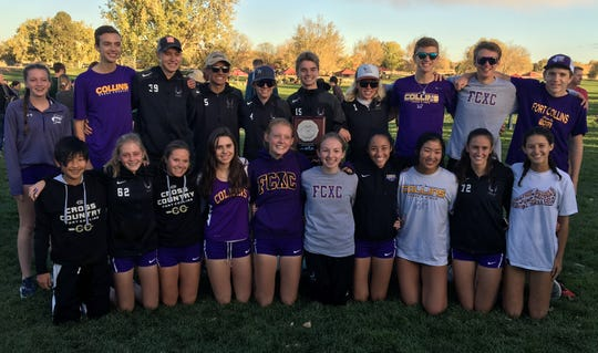 The Fort Collins boys team placed second at Thursday's regional meet and girls fourth.