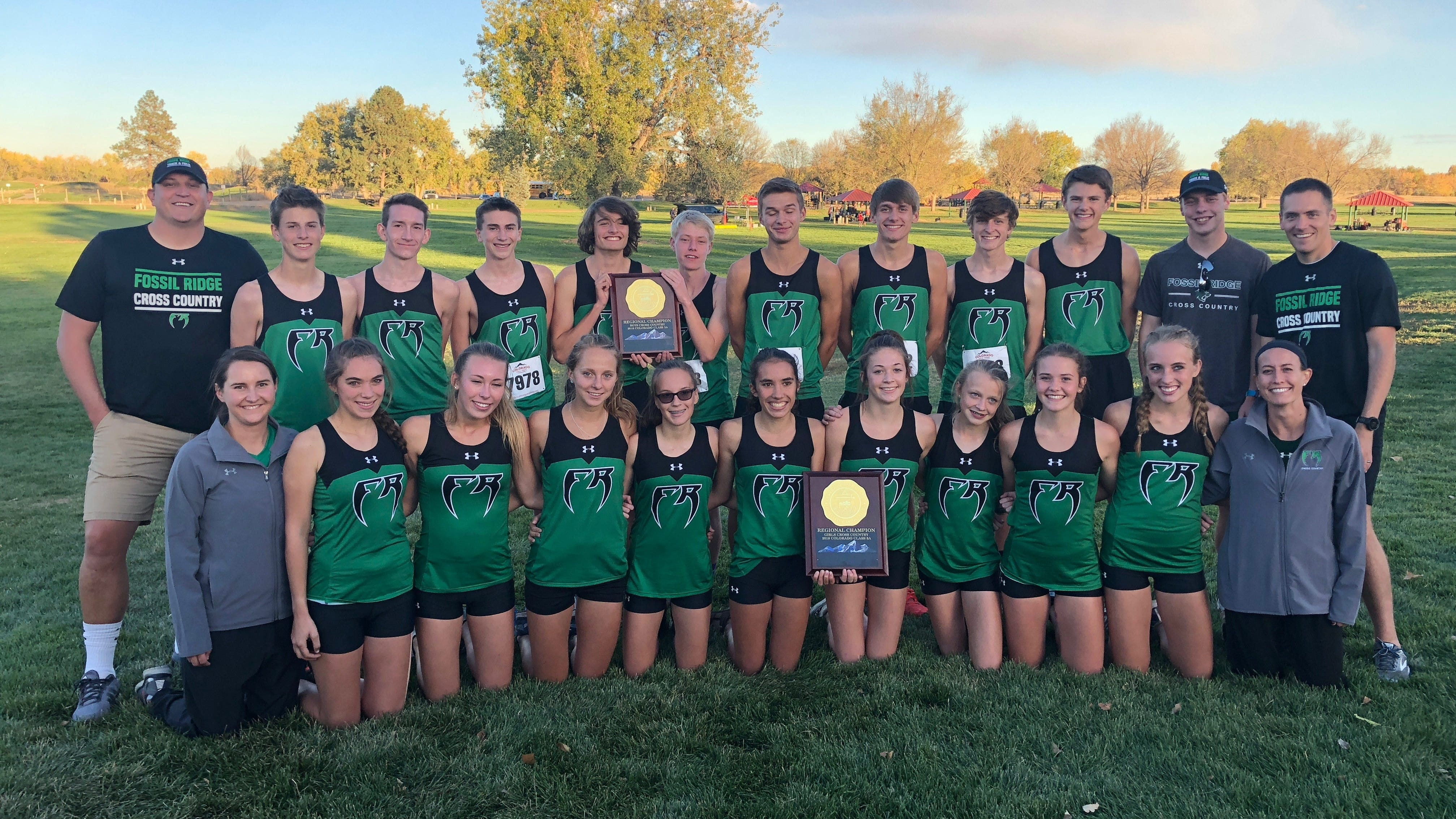 Fossil Ridge boys and girls, Rocky Mountain's Culhane win regional cross country titles