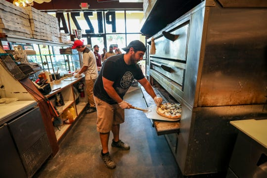 Chris Batties, general manager of Fine Folk Pizza in Gateway, won the 2018 Caputo Cup in Atlantic City with The Secret Garden pizza.