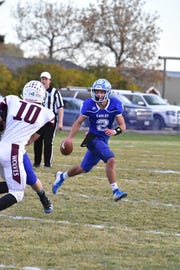 Ryder Meyer played quarterback and defensive back at Fairfield this season. He has signed to play with the Montana Grizzlies.