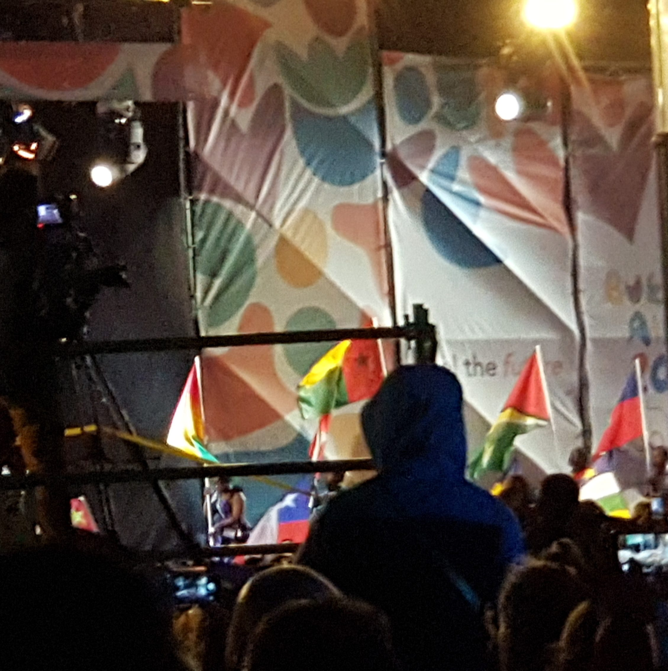 Lynch Santos flag bearer for Youth Olympic closing ceremony