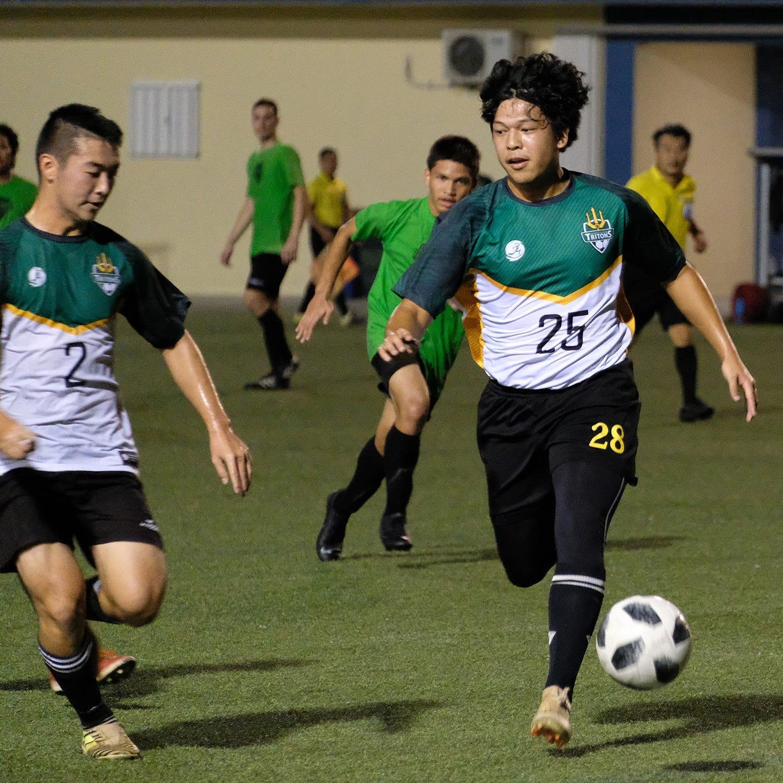 Islanders FC beat UOG Tritons in soccer match