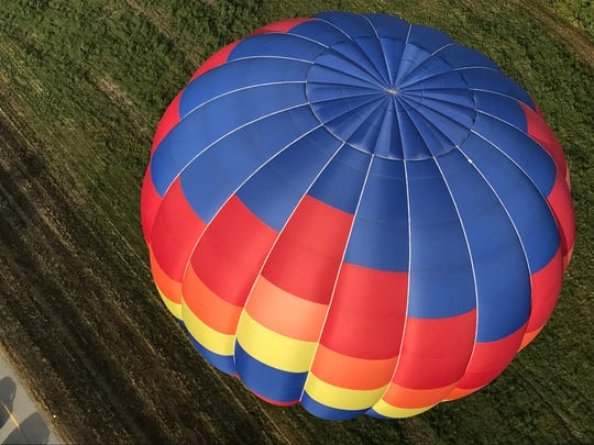 Dozens of colorful hot air balloons participate in the 33rd annual Great Mississippi River Balloon Race in Natchez. This year's festival takes place Oct.18-20.