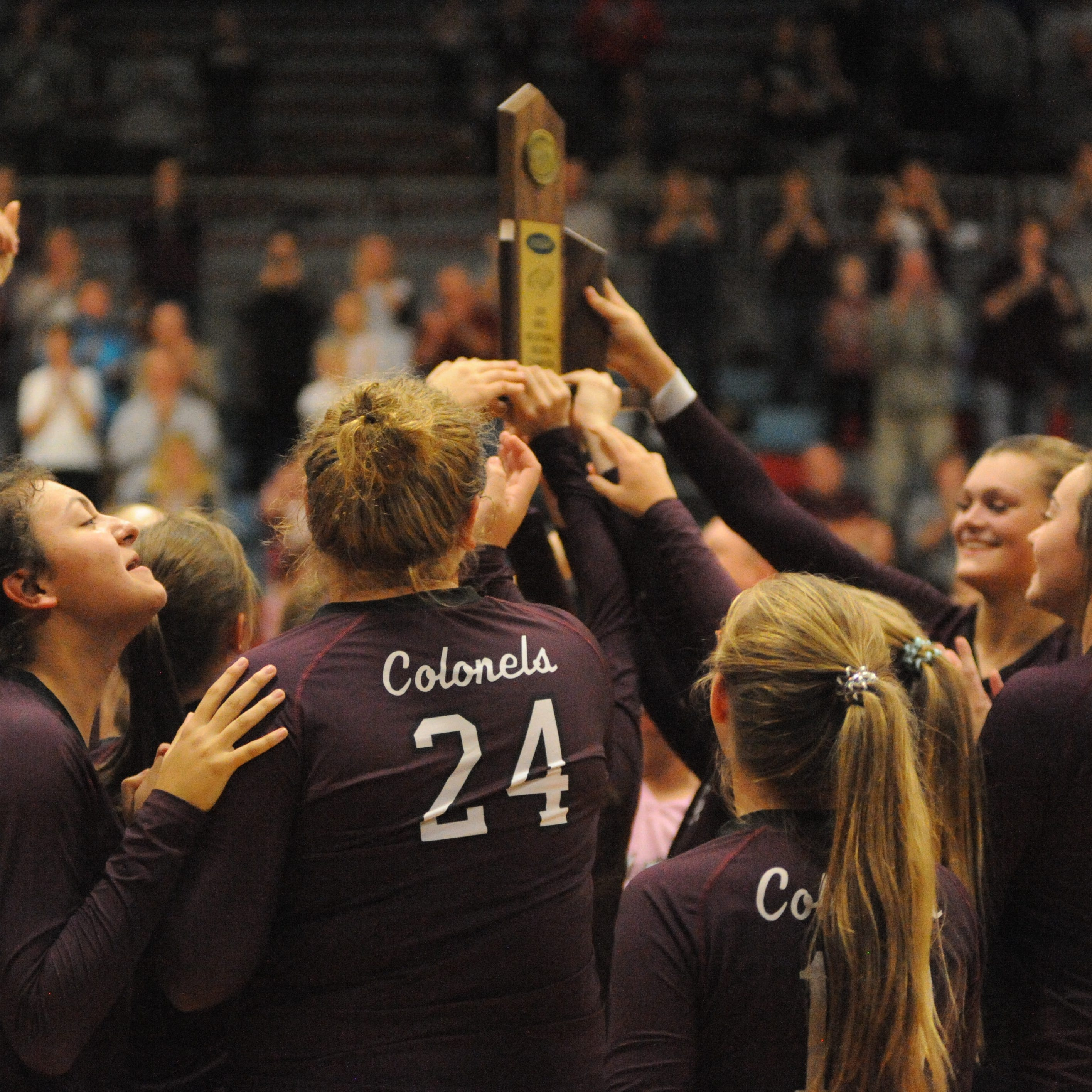 Henderson County claims its fourth straight Second Region volleyball title