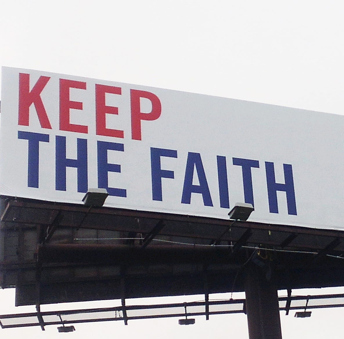 'A vote for science is a vote for creation': New Indiana religious billboard not what you expect