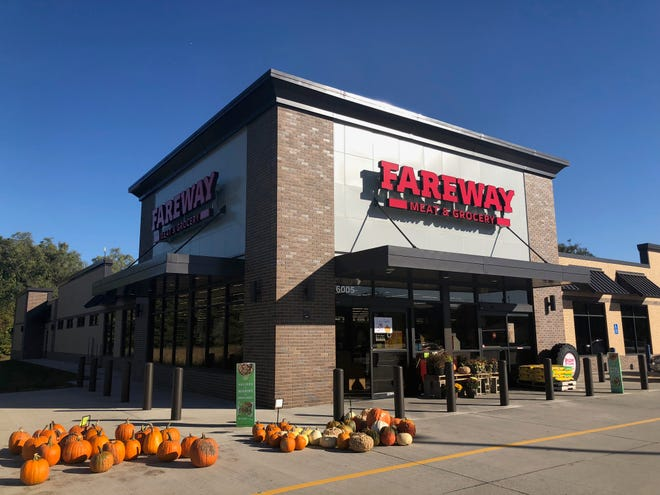 A Fareway store exterior is seen in this Thursday, Oct. 18, 2018, publicity photo.