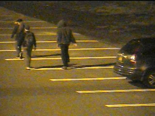 Ithaca policeare asking for help in identifyingthese vandalism suspects.