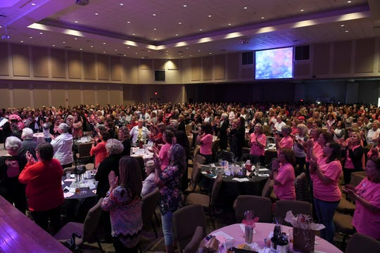 Over 900 women attended the final meeting of the YADA Sisterhood after 14 years of ministry at Northside United Methodist Church in Jackson, Thursday, October 18.