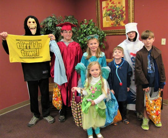 The annual Trunk-or-Treat party at First Farragut United Methodist Church offers family fun, games and candy. Church youth will sell food to raise funds for ministry work at the event on Oct. 28 from 6-7 p.m. It's free, so come dressed as your favorite character. Last year the Jordan family, Nolan, Gideon, Paysie, Judson, Haddon, Jamison and Millie (front) rocked their costumes.