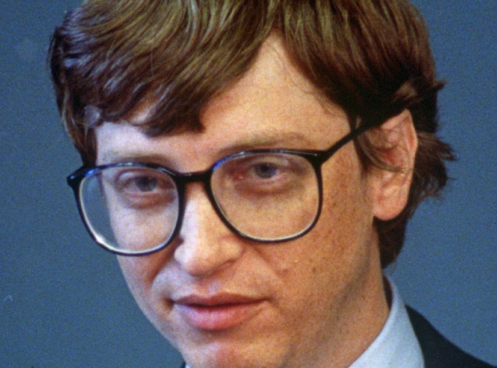 Bill Gates, founder and CEO of Microsoft Corp., is seen in this Sept. 1990 file photo. Microsoft Corp. said after the bell Thursday that Gates will transition out of a day-to-day role in the company to spend more time on his global health and education work at the Bill & Melinda Gates Foundation.