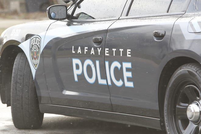 Lafayette man reports three people robbed him of his backpack and the money and food inside it.