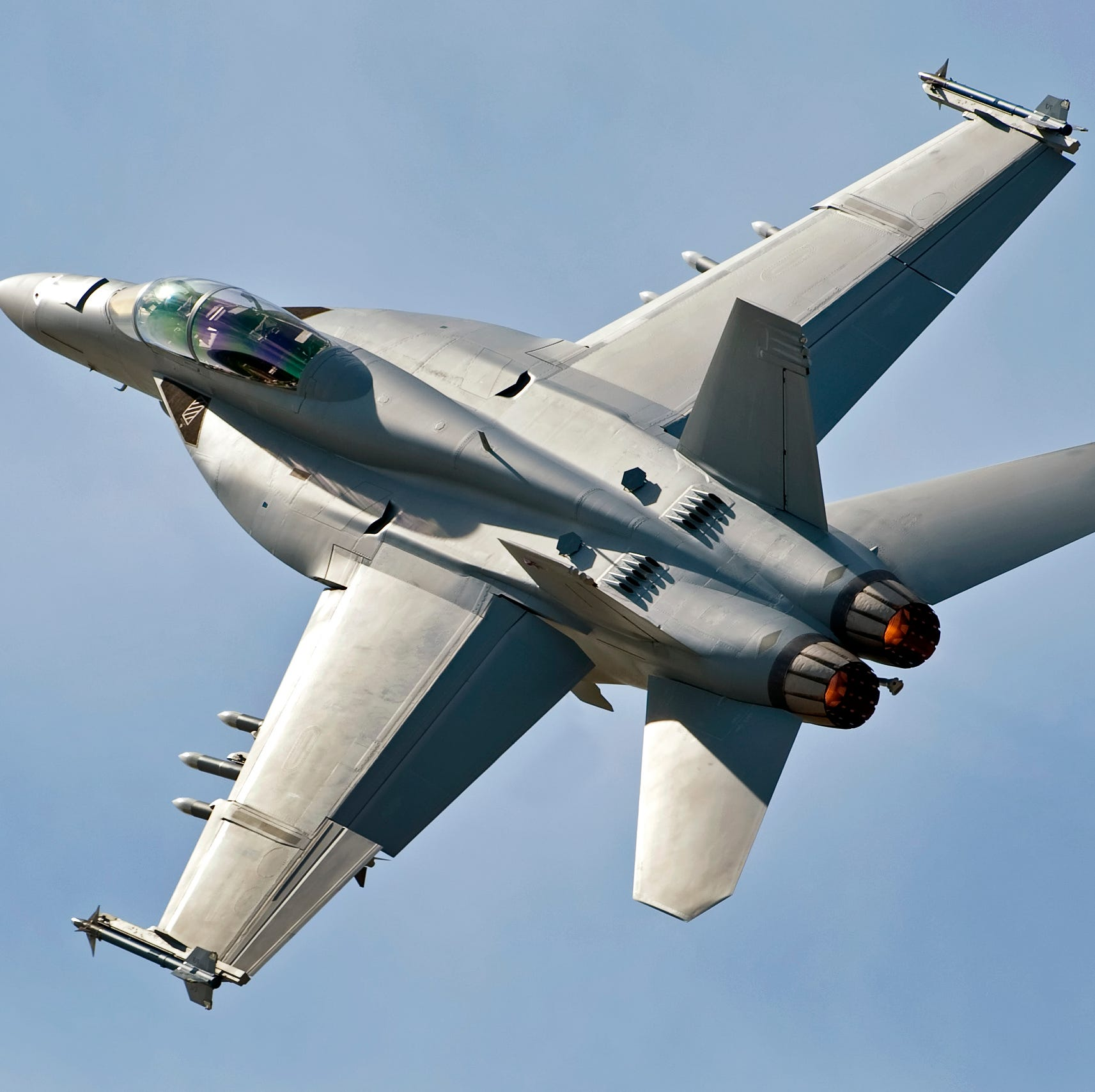 Purdue grads piloting the F18s buzzing the Ohio State football game