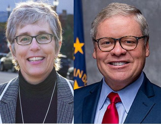 Sherry Shipley, a Lafayette Democrat, and Ron Alting, a Lafayette Republican, are running in 2018 for Indiana Senate District 22.