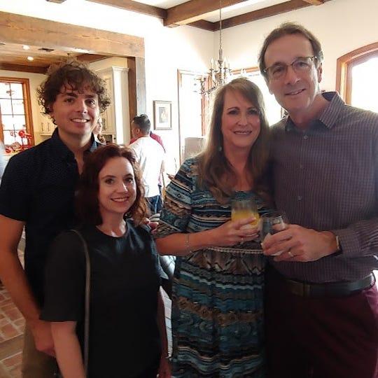 Gil and Tanya Zaunbrecher, Lynn and Blake Williams.