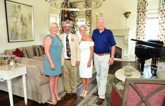 Kim Trahan, Ernest and Brenda Franz and Vernon Moret.