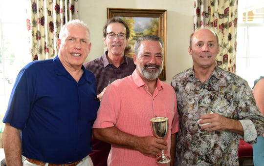 Vernon Moret, Blake Williams, Ernie Franz and Joey Domingue.