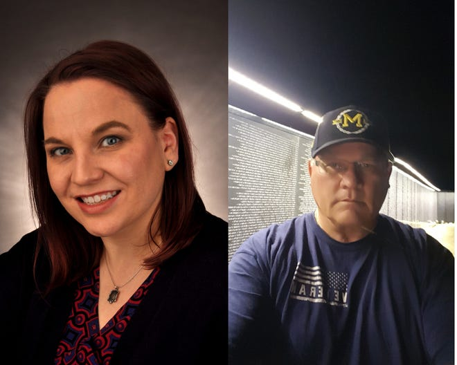 Democrat Kasey Helton and Republican Robert J. Bezotte are vying for the 6th District seat on the Livingston County Board of Commissioners.