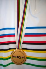 Curtis Tolson's 2018 UCI Masters Track Cycling World Championship. Oct. 19, 2018.