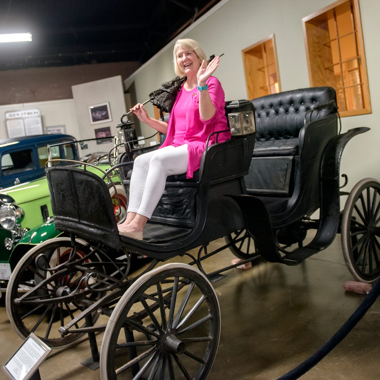 Putnam: This electric car is 119 years old, and it's staying in Lansing where it belongs