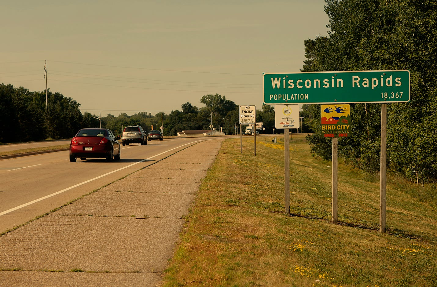 Wisconsin Rapids sits in the middle of its namesake state. Surrounded by farmland, it's the county seat for Wood County and where Cody Jackson grew up.