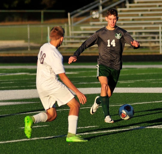 Madison's Dylan Metz scored two goals in a win on Tuesday night.