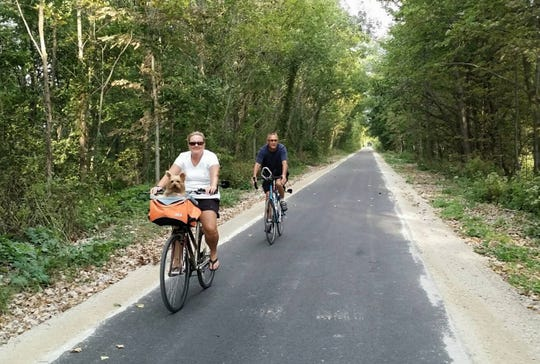 The 12-mile Tallgrass Trail was 20 years in the making and offers plenty of beauty for fall pictures.