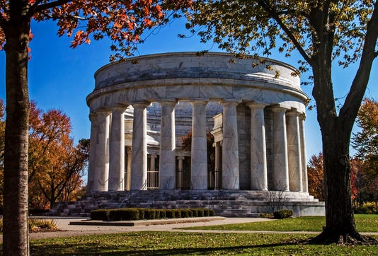 Harding Memorial Fall