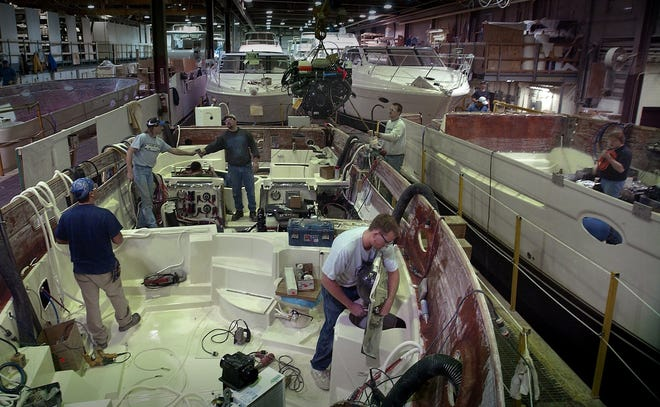 In 2002, Carver Yacht did so well at the New York boat show that it called back 75 workers it had laid off at the start of the recession. Carver is now facing a 25 percent tariff the European Union placed this year on boats built in the U.S.