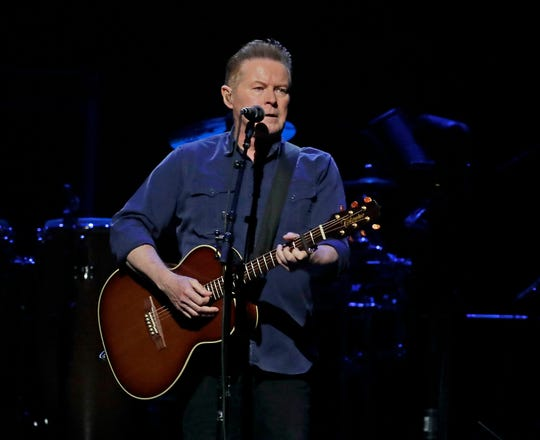 Don Henley performs during the Eagles' concert Thursday. RIck Wood,