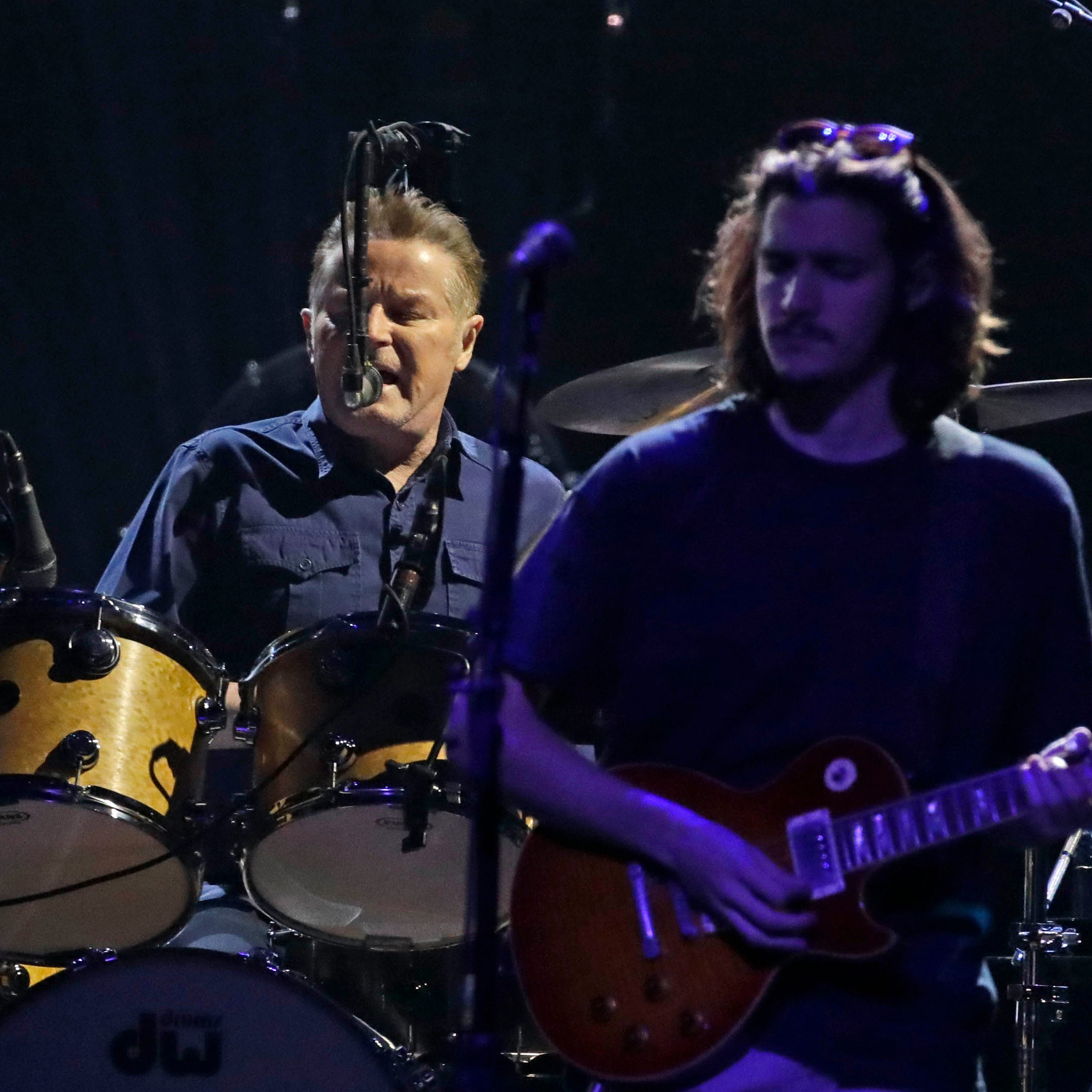 With Glenn Frey's son and Vince Gill, the Eagles soar at Fiserv Forum in Milwaukee