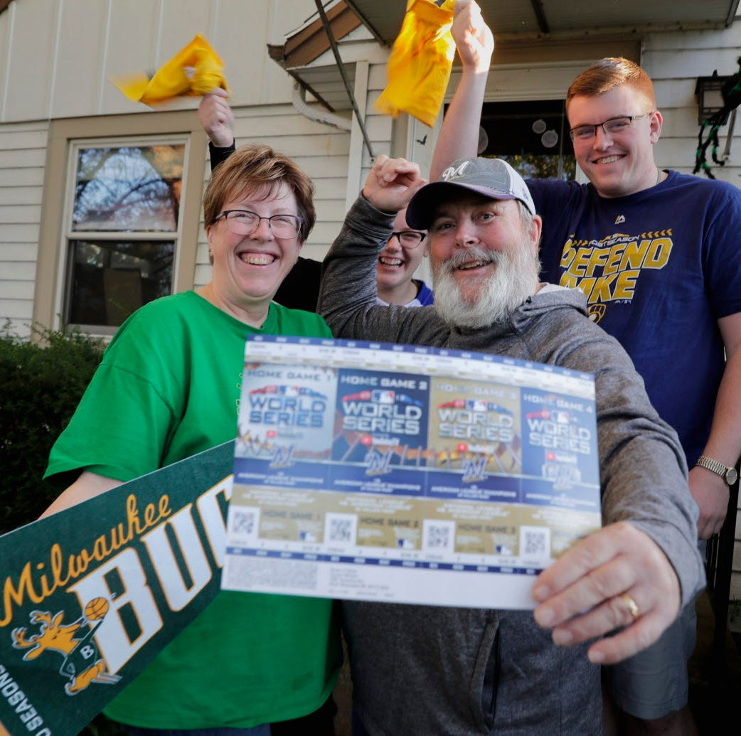 A ticket holder's dilemma: Attend the Brewers' playoff game or the Bucks' home opener?