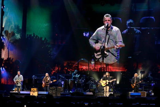 with glenn frey 39 s son the eagles soar at fiserv forum in milwaukee. Black Bedroom Furniture Sets. Home Design Ideas