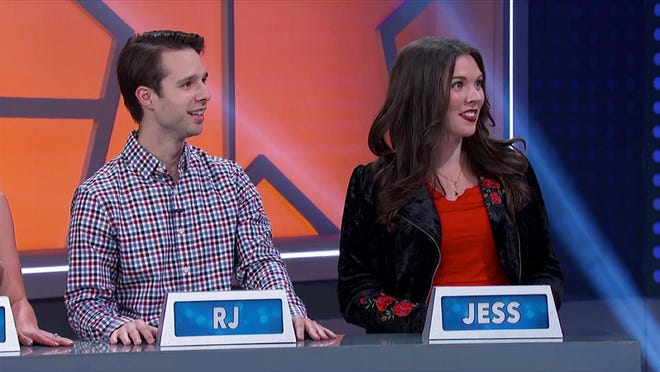 "Delafield native RJ Conley (left) was part of a team that won $15,000 on the game show ""America Says."""