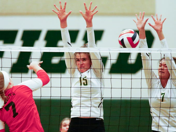 Prep Volleyball Photos South Milwaukee Vs Greenfield