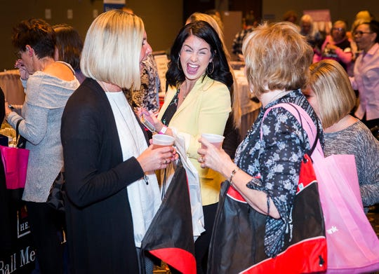 Hundreds of attendees enjoyed food, music, prizes and dancing during the 2018 Wine, Dine & Unwind at the Horizon Convention Center Thursday evening.